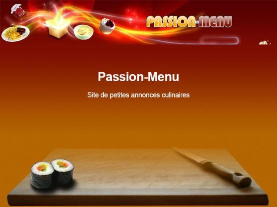 Passion Menu